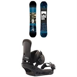 Rome Reverb Rocker SE Snowboard 2019 + Burton Custom Snowboard Bindings