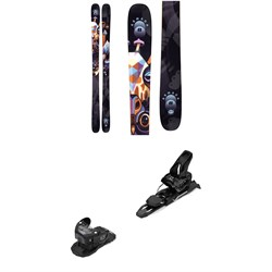 Armada ARW 86 Skis - Women's ​+ Salomon Warden MNC 11 Ski Bindings 2021