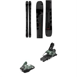 Salomon Stance 102 Skis ​+ STH2 WTR 16 Ski Bindings 2021