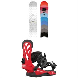 CAPiTA Spring Break Slush Slasher Snowboard + Union Contact Pro Snowboard Bindings 2021