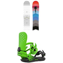 CAPiTA Spring Break Slush Slasher Snowboard + Union Strata Snowboard Bindings 2021