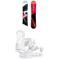 CAPiTA Birds of a Feather Snowboard + Union Milan Snowboard Bindings - Women's 2021