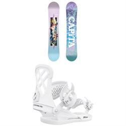 CAPiTA Paradise Snowboard + Union Milan Snowboard Bindings - Women's 2021