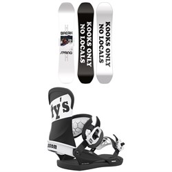 CAPiTA Spring Break Powder Twin Snowboard + Union Contact Pro Scott Stevens Snowboard Bindings 2021