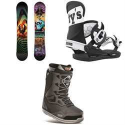 CAPiTA Scott Stevens Pro Snowboard + Union Contact Pro Scott Stevens Snowboard Bindings + thirtytwo TM-Two Stevens Snowboard Boots 2021