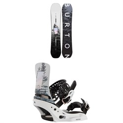 Burton Feelgood Snowboard ​+ Lexa X EST Snowboard Bindings - Women's 2021
