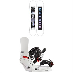 Burton Talent Scout Snowboard ​+ Lexa X EST Snowboard Bindings - Women's 2021