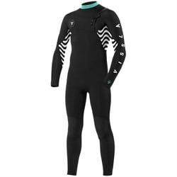 Vissla 4/3 7 Seas Shredder Chest Zip Wetsuit - Boys'