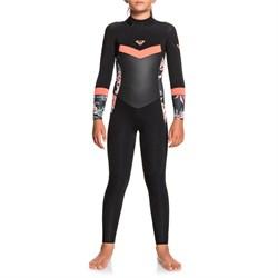 Roxy 4/3 Syncro Back Zip Wetsuit - Girls'