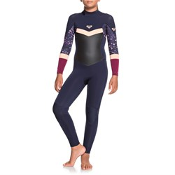 Roxy 3/2 Syncro Back Zip Wetsuit - Girls'