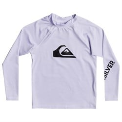 Quiksilver All Time Long-Sleeve Rashguard - Boys'