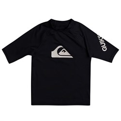Quiksilver All Time Short-Sleeve Rashguard - Boys'