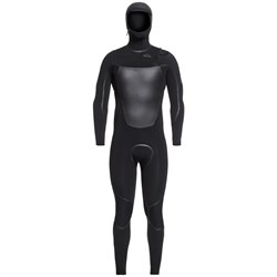 Quiksilver 4/3mm Syncro Chest Zip LFS Hooded Wetsuit