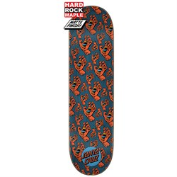 Santa Cruz Hands All Over Hard Rock Maple 8.25 Skateboard Deck