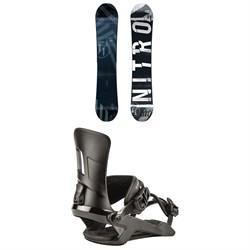 Nitro T1 Snowboard  + Rambler Snowboard Bindings