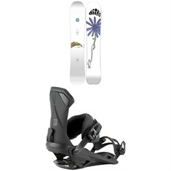 Nitro Mountain x Griffin Snowboard + Team Snowboard Bindings 2021