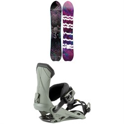 Nitro Dropout Snowboard + Team Snowboard Bindings 2021