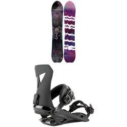 Nitro Dropout Snowboard + Zero Snowboard Bindings 2021