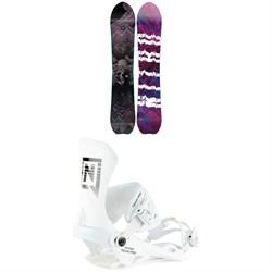 Nitro Dropout Snowboard + Team Pro Snowboard Bindings 2021