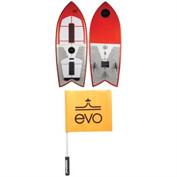 Ronix Koal Technora Powerfish​+ Wakesurf Board 2019 ​+ Proline x evo Safety Flag