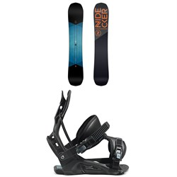 Nidecker Score Snowboard ​+ Flow Nexus Snowboard Bindings 2021