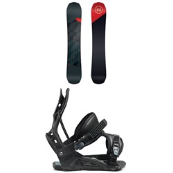 Nidecker Merc Snowboard + Flow Nexus Snowboard Bindings 2021