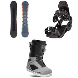 Arbor Formula Rocker Snowboard ​+ Arbor Spruce Snowboard Bindings ​+ thirtytwo STW Boa Snowboard Boots 2021