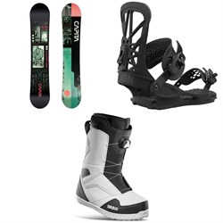 CAPiTA Outerspace Living Snowboard ​+ Union Flite Pro Snowboard Bindings ​+ thirtytwo STW Boa Snowboard Boots 2021