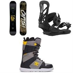 CAPiTA Horrorscope Snowboard + Union Flite Pro Snowboard Bindings + DC Phase Snowboard Boots 2021