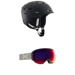 Anon Omega MIPS Helmet - Women's + Anon WM1 MFI Goggles - Women's