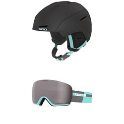 Giro Avera MIPS Helmet - Women's + Giro Lusi Goggles - Women's