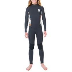Rip Curl 4/3 Dawn Patrol Back Zip Wetsuit - Girls'