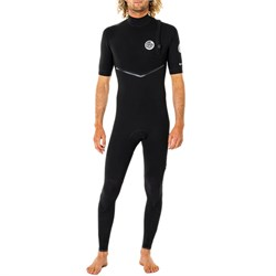 Rip Curl 2mm E Bomb Zip Free Short Sleeve Wetsuit