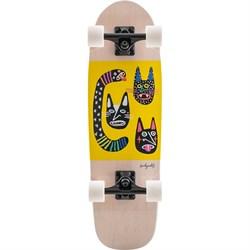 Landyachtz Dinghy Blunt Wild Cats Cruiser Skateboard Complete