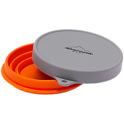 Alpine Mountain Gear Collapsible Silicone Bowl - Small