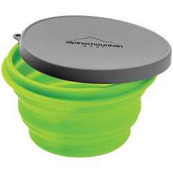 Alpine Mountain Gear Collapsible Silicone Bowl - Medium