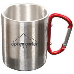 Alpine Mountain Gear Carabiner Mug