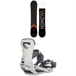 Salomon Sight X Snowboard  + Trigger X Snowboard Bindings 2021