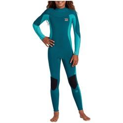 Billabong 3/2 Synergy Back Zip Flatlock Wetsuit - Girls'