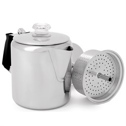 GSI Outdoors Glacier Stainless 6 Cup Percolator