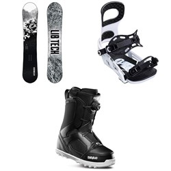 Lib Tech Cold Brew C2 Snowboard + Bent Metal Joint Snowboard Bindings + thirtytwo STW Boa Snowboard Boots