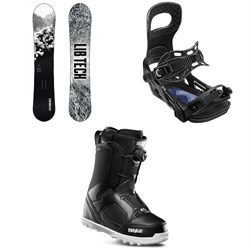 Lib Tech Cold Brew C2 Snowboard ​+ Bent Metal Joint Snowboard Bindings ​+ thirtytwo STW Boa Snowboard Boots