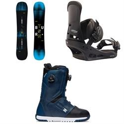 Burton Instigator Snowboard 2019 + Custom Snowboard Bindings  + DC Control Boa Snowboard Boots