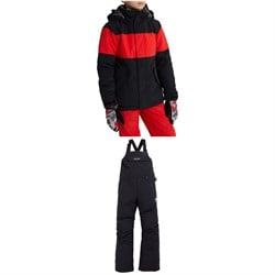 Burton Symbol Jacket - Boys' + Skylar Bibs - Kids'