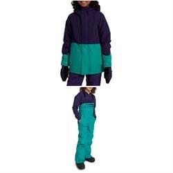 Burton GORE-TEX Stark Jacket + Bibs - Kids' 2021