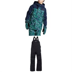 Burton Covert Jacket - Boys' ​+ Skylar Bibs - Kids'