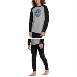 Burton Midweight Base Layer Tech T-Shirt ​+ Midweight Base Layer Pants - Kids'