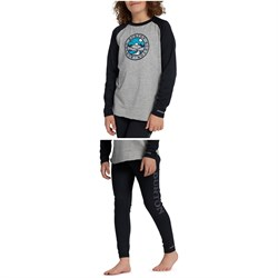 Burton Midweight Base Layer Tech T-Shirt + Midweight Base Layer Pants - Kids'
