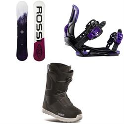 Rossignol Gala Snowboard + Rossignol Gala Snowboard Bindings + thirtytwo Shifty Boa Snowboard Boots - Women's 2021