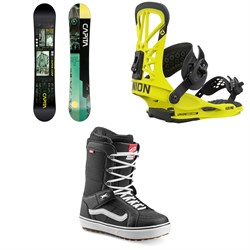 CAPiTA Outerspace Living Snowboard ​+ Union Flite Pro Snowboard Bindings ​+ Vans Hi Standard OG Snowboard Boots 2021